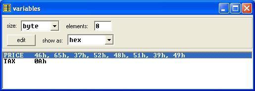 Asm_program_Add_SalesTaxToList_Output2