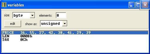 Asm_program_Calc_SalesTaxToList_Output1