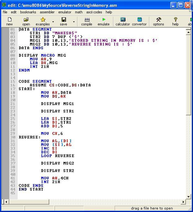 Write a program conversion of bcd to decimal number