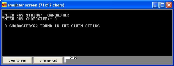 Asm_program_Search_Char_in_Str_Output