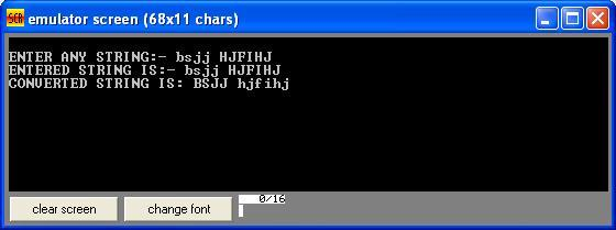 Asm_program_Upr2Lwr_Lwr2Upr_Output