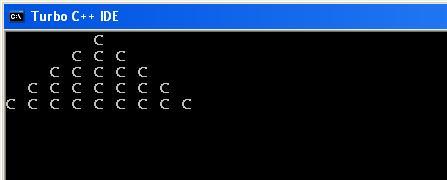 C_program_Pyramid_Format_Output