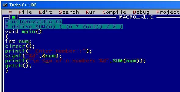 C_program_Macro_Sum