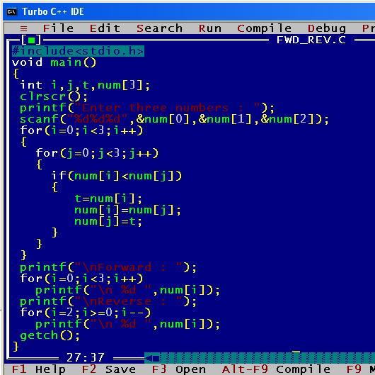 C_program_Rev_Fwd