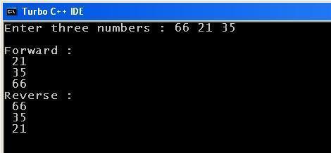 C_program_Rev_Fwd_Output