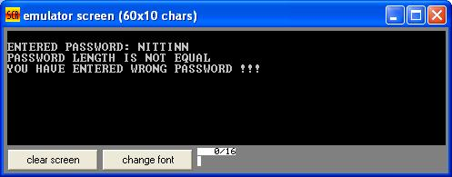 Asm_program_Check_Password_Output