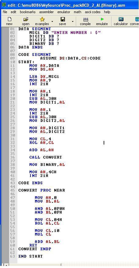 Asm_program_Proc_Packed_BCD_to_AL(Binary)