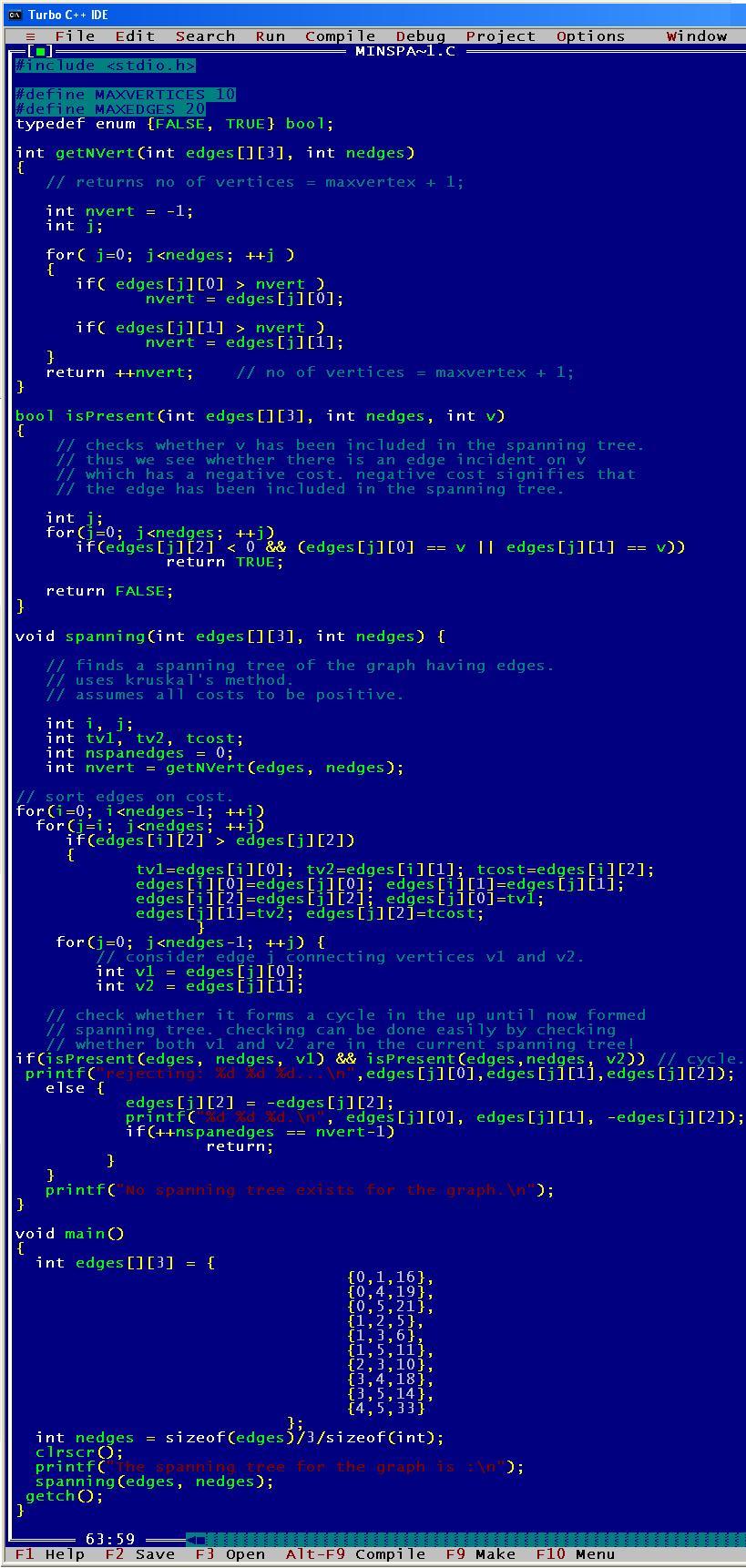 C_program_Min_Spanning_Tree