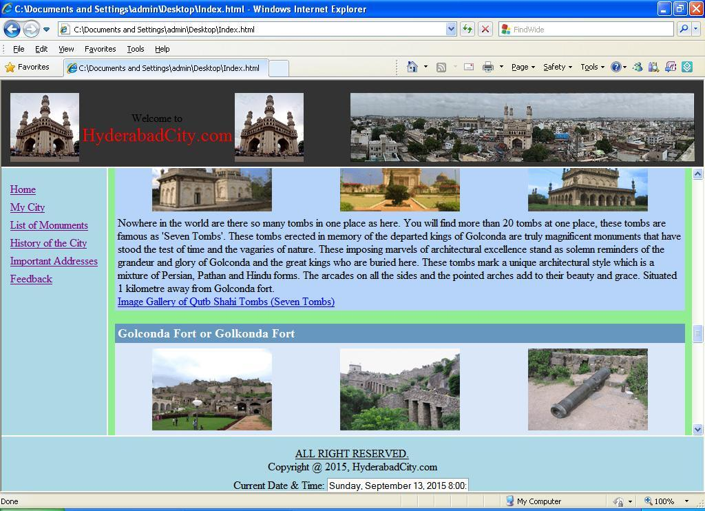 Html_Website_City1