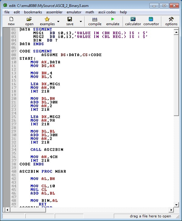 Asm_program_Ascii _2digit_To_Binary_v3