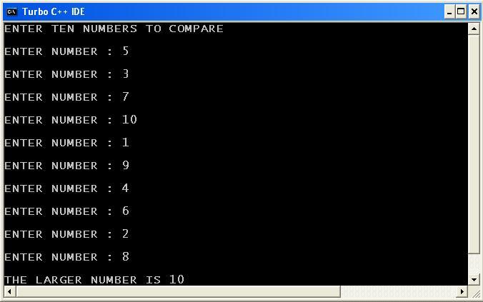 C_program_Largest_Recursion_Output