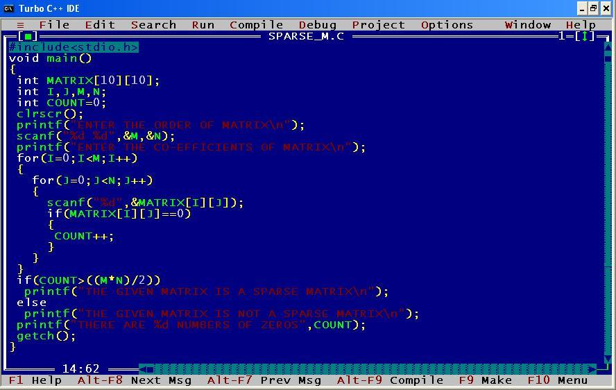 C_program_Sparse_Matrix