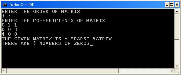 C_program_Sparse_Matrix_Output