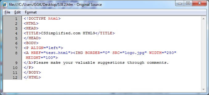 HTML_Image_Link_Source_Code