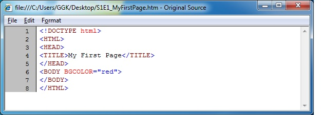 HTML_MyFirstPage_Source_Code